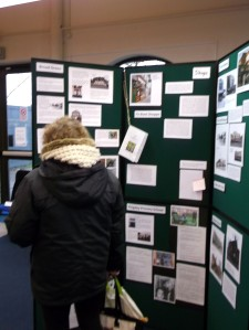 Documenting Exhibition in Broad Green Library